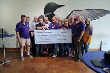 Photo of Grant awarded by Lions Club 2021
